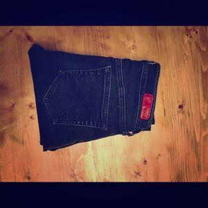 AG high waisted skinny jeans